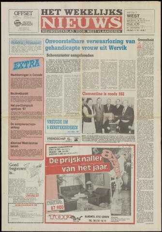 Het Wekelijks Nieuws (1946-1990) 1988