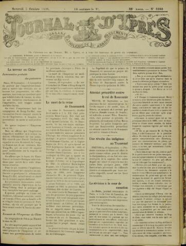 Journal d'Ypres (1874 - 1913) 1898-10-05