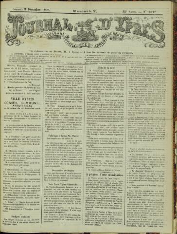 Journal d'Ypres (1874 - 1913) 1898-12-03