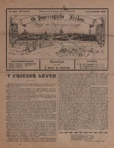 De Poperingsche Keikop (1917-1919) 1918-10-01