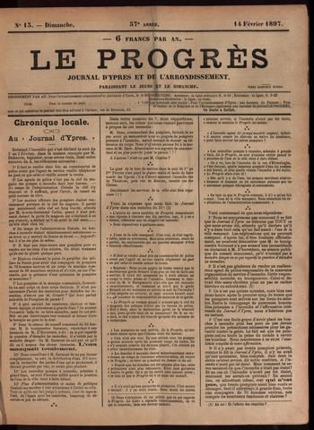 Le Progrès (1841-1914) 1897-02-14