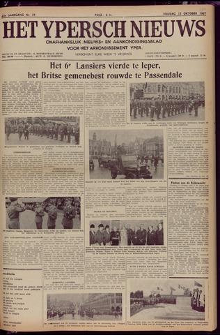 Het Ypersch nieuws (1929-1971) 1967-10-13