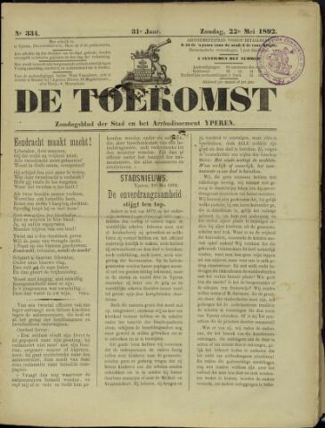 De Toekomst (1862 - 1894) 1892-05-22