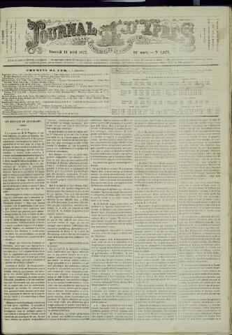 Journal d'Ypres (1874 - 1913) 1877-04-11