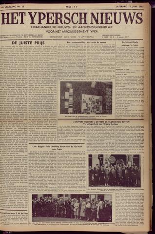 Het Ypersch nieuws (1929-1971) 1963-06-15