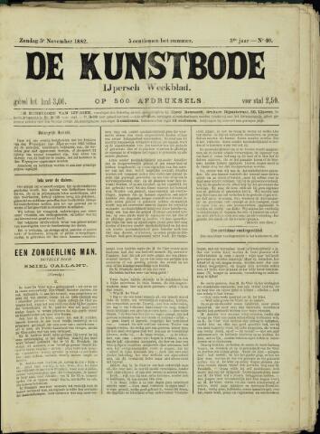 De Kunstbode (1880 - 1883) 1882-11-05