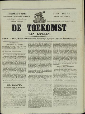 De Toekomst (1862 - 1894) 1872-10-27