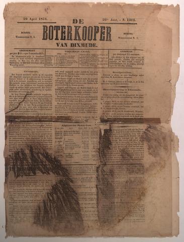 De Boterkoper 1874