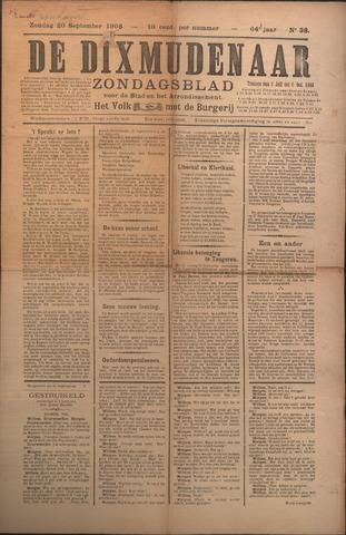 De Dixmudenaar 1908-09-20