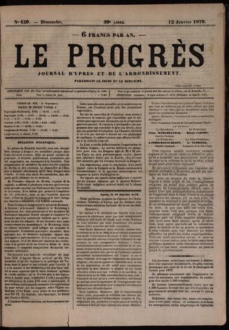 Le Progrès (1841-1914) 1879-01-12