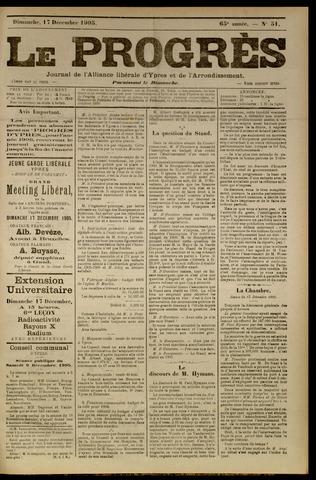 Le Progrès (1841-1914) 1905-12-17