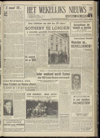 Het Wekelijks Nieuws (1946-1990) 1959-10-02