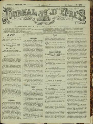 Journal d'Ypres (1874 - 1913) 1898-12-31