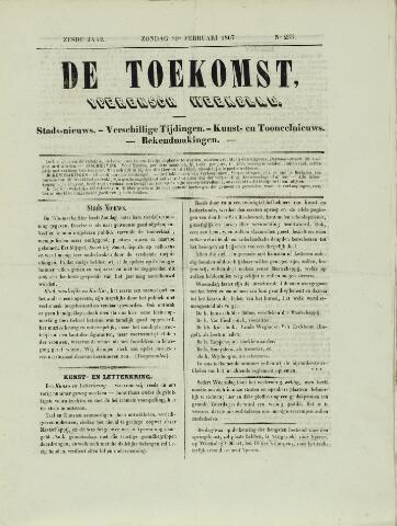 De Toekomst (1862 - 1894) 1867-02-10