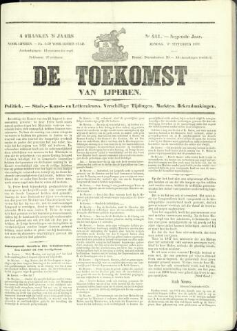 De Toekomst (1862 - 1894) 1870-09-04