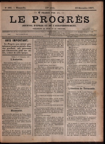 Le Progrès (1841-1914) 1897-12-19