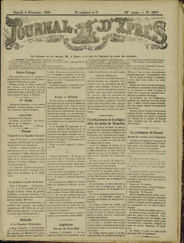 Journal d'Ypres (1874 - 1913) 1900-12-08