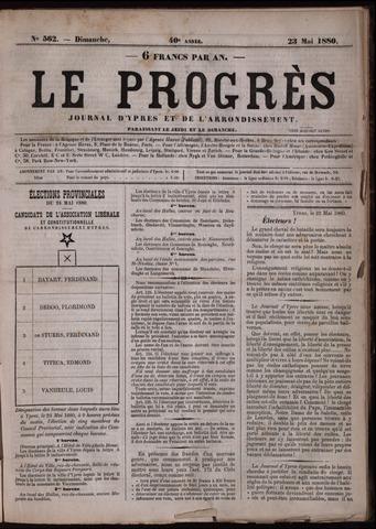 Le Progrès (1841-1914) 1880-05-23