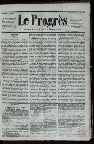 Le Progrès (1841-1914) 1847-08-29