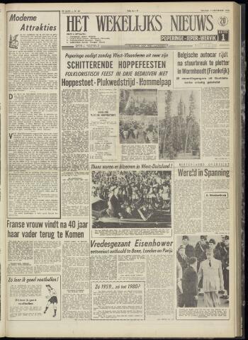 Het Wekelijks Nieuws (1946-1990) 1959-09-04