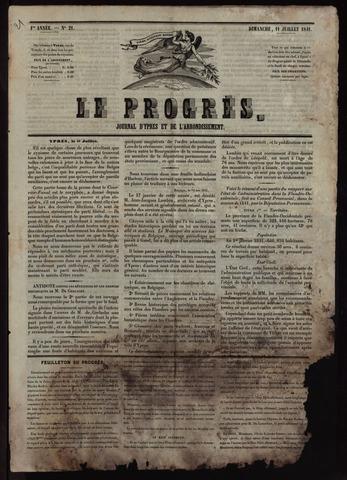 Le Progrès (1841-1914) 1841-07-11