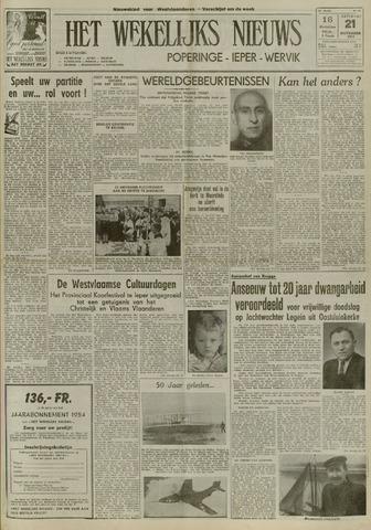 Het Wekelijks Nieuws (1946-1990) 1953-11-21