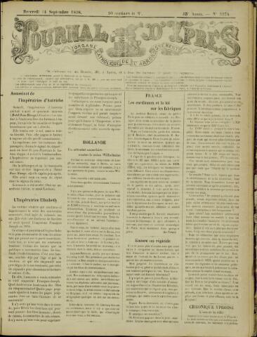 Journal d'Ypres (1874 - 1913) 1898-09-14
