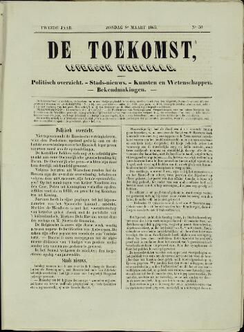 De Toekomst (1862 - 1894) 1863-03-08