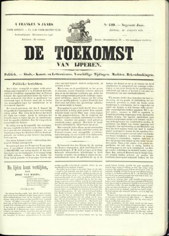 De Toekomst (1862 - 1894) 1870-08-21