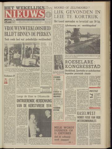 Het Wekelijks Nieuws (1946-1990) 1974-10-11
