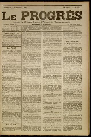 Le Progrès (1841-1914) 1905-09-03