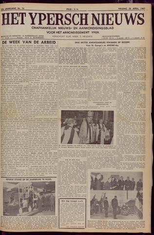 Het Ypersch nieuws (1929-1971) 1967-04-28
