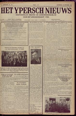 Het Ypersch nieuws (1929-1971) 1961-10-28