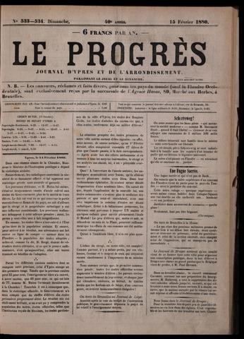 Le Progrès (1841-1914) 1880-02-15