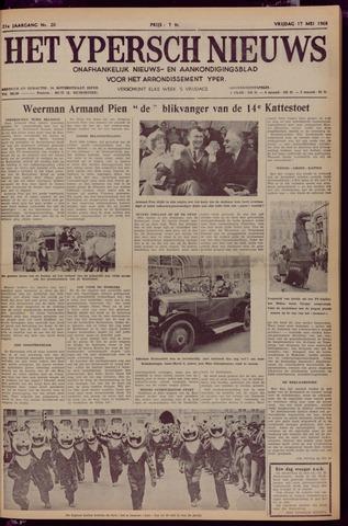 Het Ypersch nieuws (1929-1971) 1968-05-17