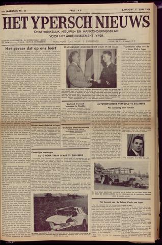Het Ypersch nieuws (1929-1971) 1963-06-22
