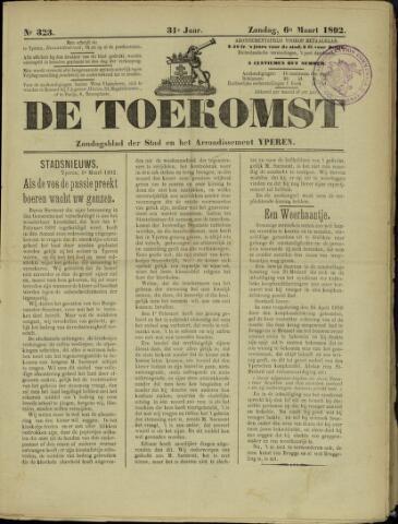 De Toekomst (1862 - 1894) 1892-03-06