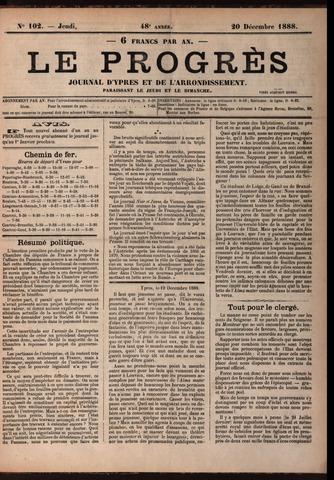 Le Progrès (1841-1914) 1888-12-20