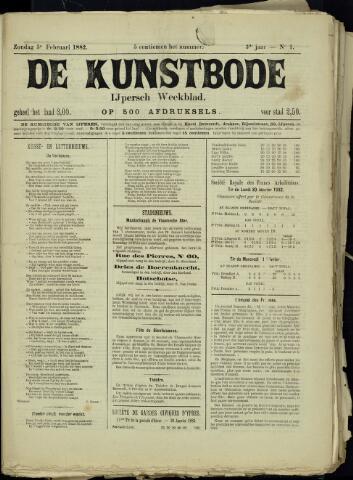 De Kunstbode (1880 - 1883) 1882-02-05