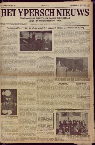 Het Ypersch nieuws (1929-1971) 1963-10-26
