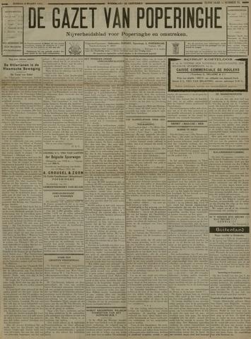 De Gazet van Poperinghe  (1921-1940) 1931-03-08
