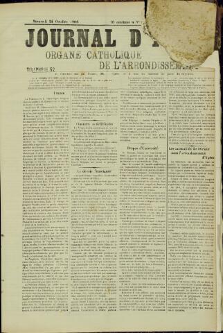 Journal d'Ypres (1874 - 1913) 1906-10-24