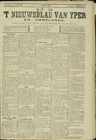 Nieuwsblad van Yperen en van het Arrondissement (1872 - 1912) 1899-05-13