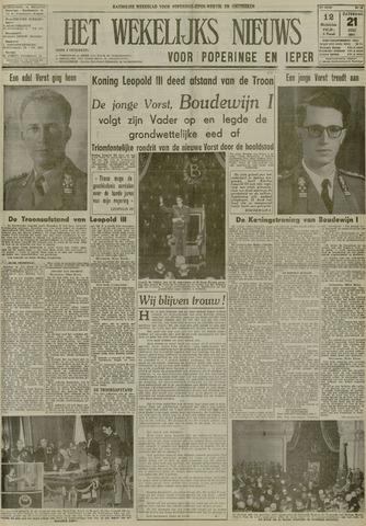 Het Wekelijks Nieuws (1946-1990) 1951-07-21
