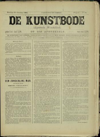 De Kunstbode (1880 - 1883) 1882-10-22