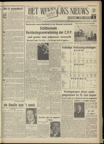 Het Wekelijks Nieuws (1946-1990) 1958-06-06