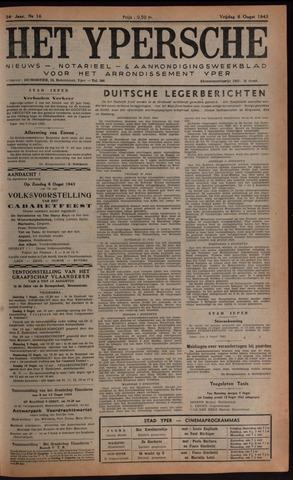 Het Ypersch nieuws (1929-1971) 1943-08-06