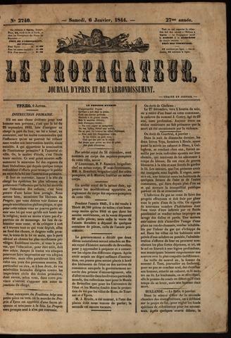Le Propagateur (1818-1871) 1844