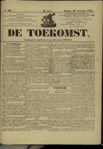 De Toekomst (1862 - 1894) 1889-11-24
