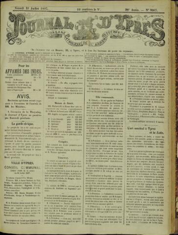 Journal d'Ypres (1874 - 1913) 1897-07-31